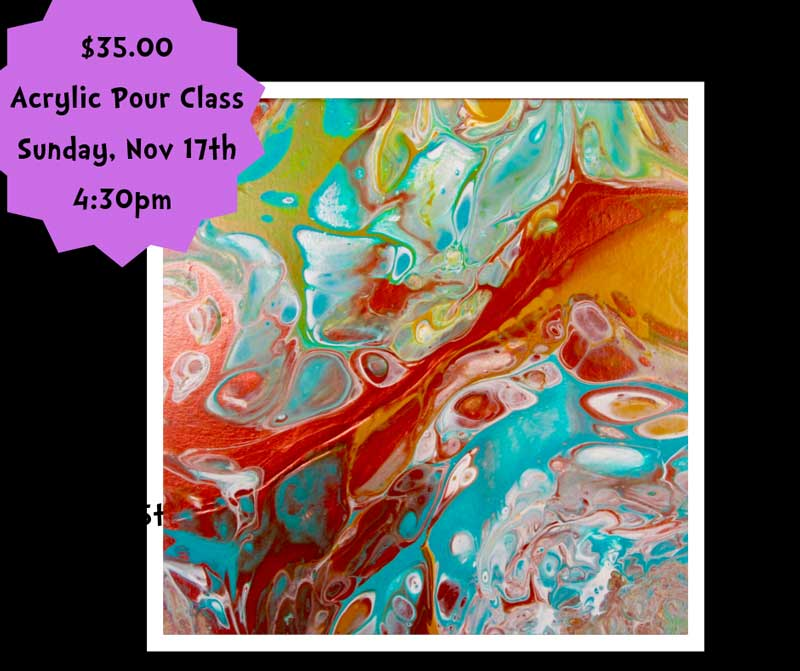 Acrylic Pour Painting @ Albuquerque | New Mexico | United States