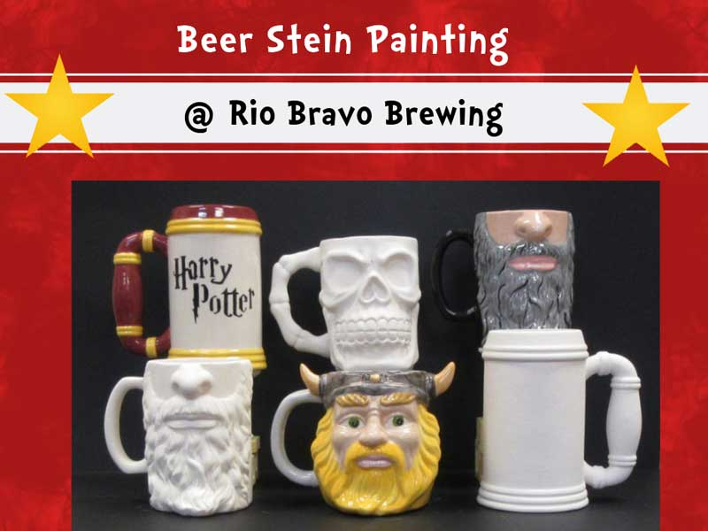 Beer Stein Painting @ Rio Bravo Brewing Company | Albuquerque | New Mexico | United States