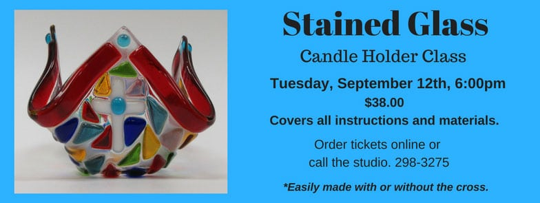 Beautiful Stained Glass Candle Holder @ Albuquerque | New Mexico | United States