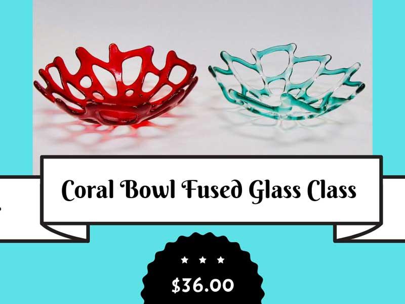 Coral Fused Bowl @ Albuquerque | New Mexico | United States