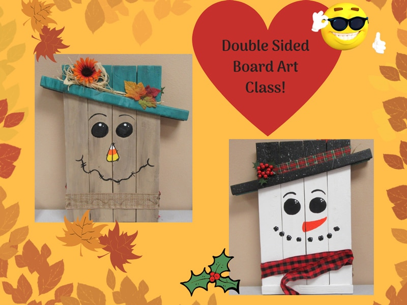 Double Sided Board Art @ Albuquerque | New Mexico | United States