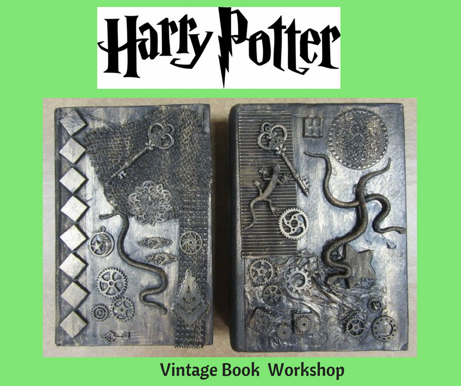 Harry Potter Inspired Vintage Book Workshop @ Albuquerque | New Mexico | United States
