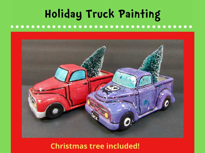 Holiday Truck Painting @ Boxing Bear Brewing Co. | Albuquerque | New Mexico | United States