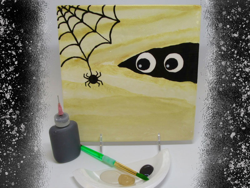 Kids Spooky Mummy Plate Class @ Art Attack | Albuquerque | New Mexico | United States