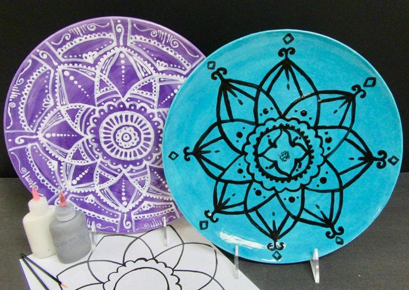 Mandala Plate @ Art Attack | Albuquerque | New Mexico | United States