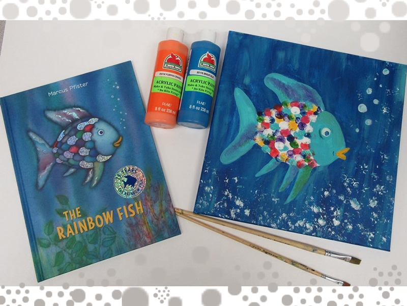 Rainbow Fish Story and Painting Event @ Albuquerque | New Mexico | United States
