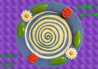 Summer Bloom Platter Class