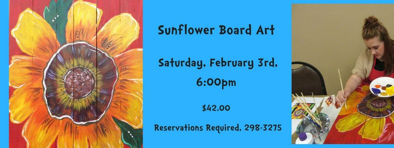 Sunflower Board Art @ Albuquerque | New Mexico | United States