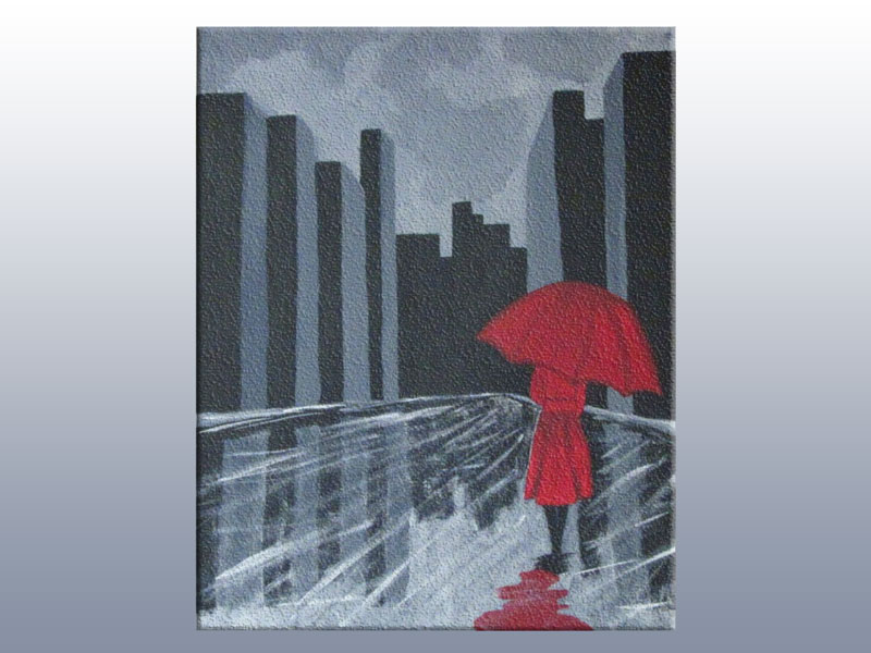 The Red Umbrella Canvas Painting Class @ Albuquerque | New Mexico | United States