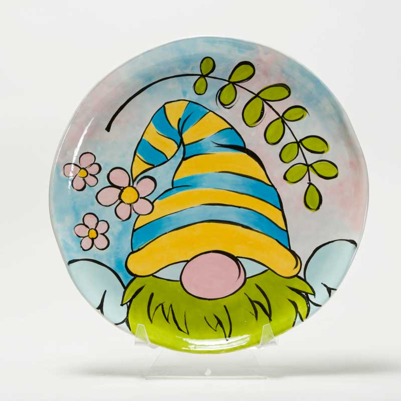 Whimsical Gnome Plate @ Albuquerque | New Mexico | United States