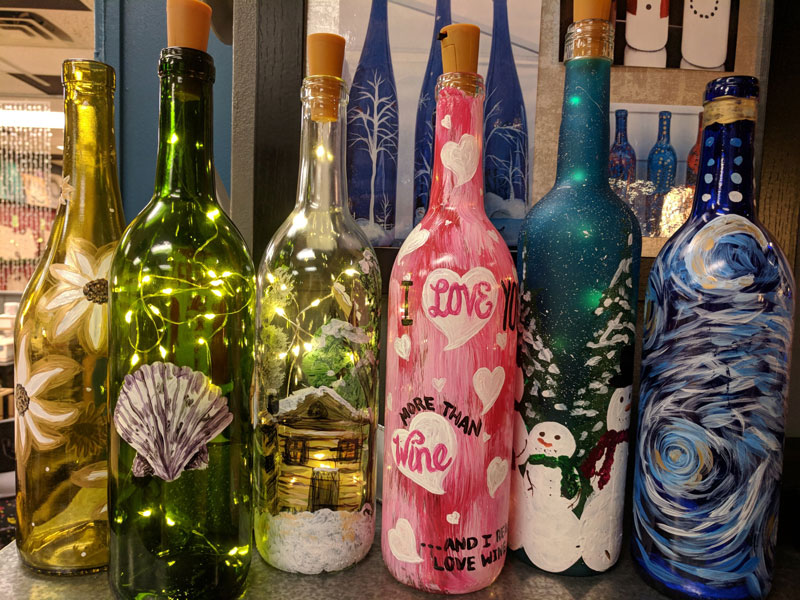 Wine Bottle Lantern Workshop @ Albuquerque | New Mexico | United States