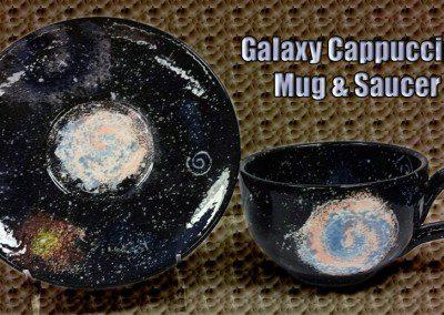 Galaxy Cappuccino Mug Saucer Class