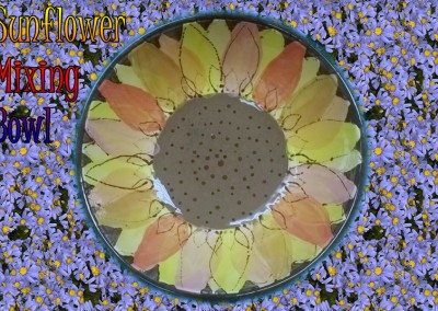 Sunflower Mixing Bowl Class