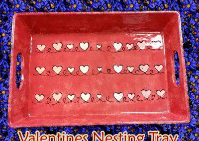 Valentines Nesting Tray Class