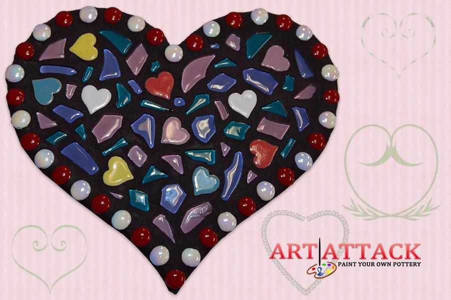Valentine's  Mosaics