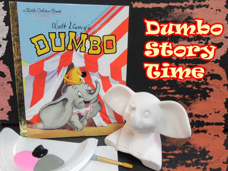 Dumbo Story Time @ Art Attack | Albuquerque | New Mexico | United States